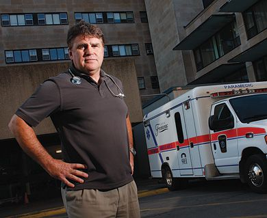 Dr. Gord Jones, head of emergency medicine for Queen's University and Kingston General and Hotel Dieu Hospitals, says alcohol-related illness has been a growing problem during Homecoming over the past few years.