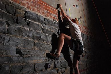 Home to the highest indoor climbing wall in the country and only 20 minutes away from campus, the Boiler Room is a viable fitness option for any student.
