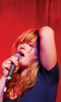Rebekah Higgs sang, wailed and cooed with an East-Coast flare at The Grad Club on Friday night, opening for Jason Collett.