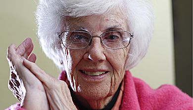 Bea Corbett, ArtSci '43, finished her degree at Queen's before joining the navy.
