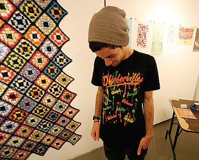 Ben Nelson, a staple of the Kingston arts, is showing his first solo exhibit.