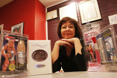Cynthia Herrington, owner of Cynthia's and certified sex educator, has a diverse selection of sex toys to meet the needs of her clients.