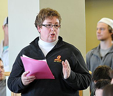 Director of Athletics and Recreation Leslie Dal Cin says without the fee increase, the department would have had to cut varsity and intramural programming significantly.