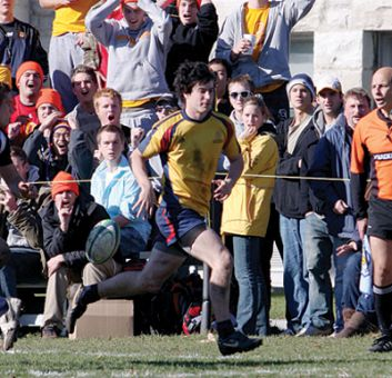 Chris Barrett, a Gael's rugby wing, said athletes avoid alcohol when the season is looming.