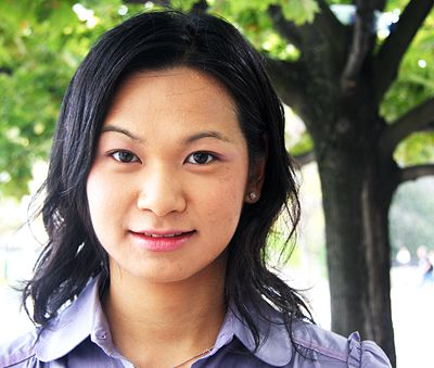 Helen Ma, ArtSci '06, will participate in World Wide Views on Global Warming, an international citizen consultation project, in Calgary later this month.
