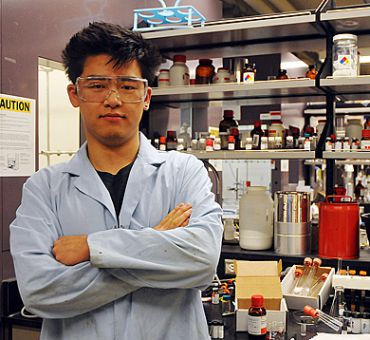 Chen Liang, Sci '07 and MSc '09, says the GreenCentre will help promote the work of green chemistry students whose efforts might otherwise go ignored.