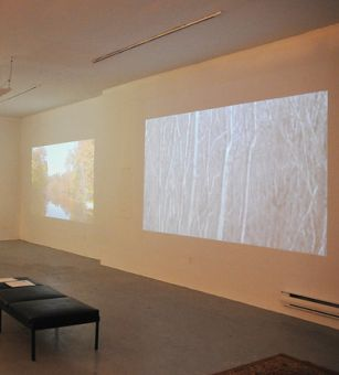 The artists use varying technology and multi-media practices to accurately reflect who they are and the messages they aim to convey.