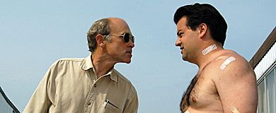 The Trailer Park Boys' schemes to get rich, stay inebriated and out of jail are often foiled by the eyes and ears of the park, Mr. Lahey (left).