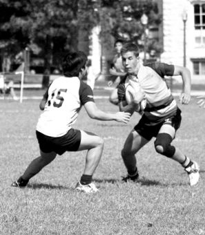Gaels' scrum-half Liam Underwood scored 42 points during the men's rugby season this year and was selected for the Canadian U-20 team.