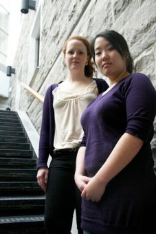 AMS Vice-President (Operations) Leslie Yun, pictured right, says Student Constables will receive a pay raise from $9.50 to $11, effective next year.