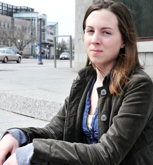 Graduate teaching assistant Katrinka Kocha says she's surprised the Labour Board wasn't checking IDs at the polling stations on Tuesday.