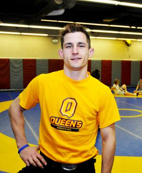 Jamie Macari will be living in Uganda and will not return as the wrestling team's head coach next season.