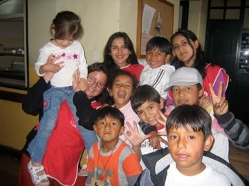 Ramanathan says she would have rather seen the $400 in fees she paid to a North American feeder organization go to Fundación Chiriboga that sends volunteers to childcare centres like the daycare program pictured above.