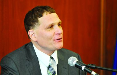 """Principal Daniel Woolf released his academic vision statement """"Where Next?"""" on Jan. 15"""