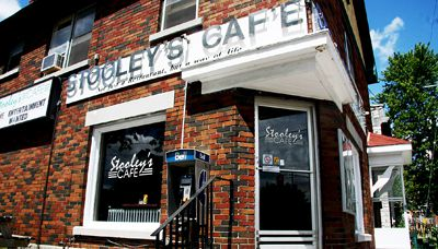 Stooley's is one of the best cheap food options near campus and has great fries, student says.