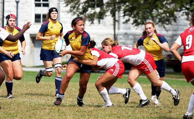 Women's rugby battled Saturday against the York Lions winning a 65-13 decisive victory. Queen's faces the McMaster Marauders next weekend.