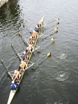 The heavyweight women's eight won gold over the weekend at the Head of the Trent.