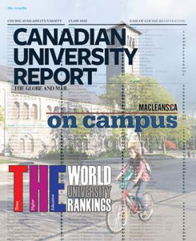 Rankings from Times Higher Education, Maclean's and the Globe and Mail are the most renowned surveys of Canadian Universities.