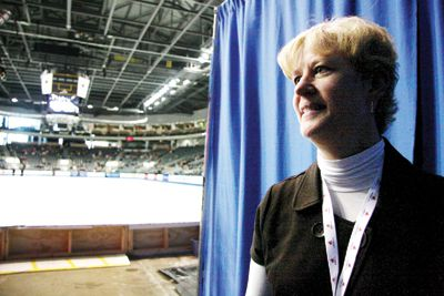 Jackie Stell-Buckingham is in Kingston with Skate Canada for the Skate Canada International event at the K-Rock Centre.