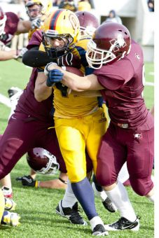 The Gaels are eliminated from the playoffs after their loss to the McMaster Marauders over the weekend.