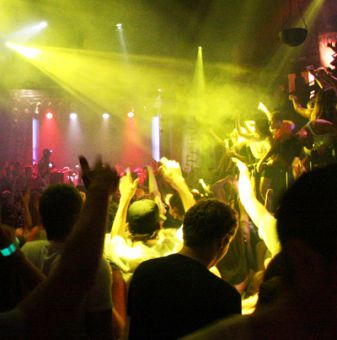 A manager at a local bar says he sees an increase in patrons using MDMA at special events, like the Oct. 6 Steve Aoki concert at Stages night club, pictured above.