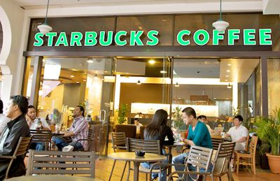 "Starbucks is one of the biggest buyers of ""Fair Trade Certified"" coffee in North America."
