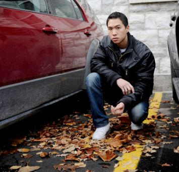 Brian Chan, MD '13, had $750 stolen from his car Saturday night.