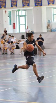Habib was a competitive athlete, having played basketball, golf, soccer and volleyball.
