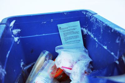 To avoid getting a blue slip and rejected recyclables, visit bit.ly/kingstonrecycling to view the City's list of acceptable materials.
