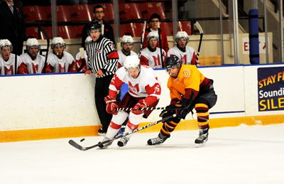 The men's hockey team continue to battle for a playoff spot in OUA against teams like Carleton, Nipissing, Ottawa and Concordia.