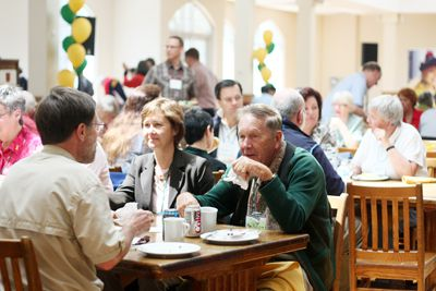 Last year's Spring Reunion saw 44 classes return. 46 classes have registered for the 2011 event. The last Fall Homecoming in 2008 attracted 80 classes to campus.