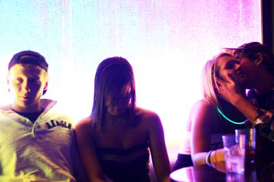 Nightclubs can be the place for both hookups and budding romances, a student says.