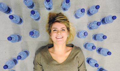 AMS Sustainability Coordinator Jodi Rempel, ArtSci '11, says the movement to ban bottled water sales on campus has been student led.