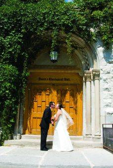 Queen's Chaplain Brian Yealland says most weddings used to take place in the chapel at Theological Hall but are now held primarily in the University Club and JDUC.