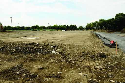 Construction begins on the West Campus turf field, which will host the Queen's Rugby teams in 2011.
