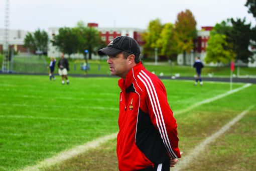 Dave McDowell has been the head coach of the women's soccer team since 1988. He won a national championship last fall.