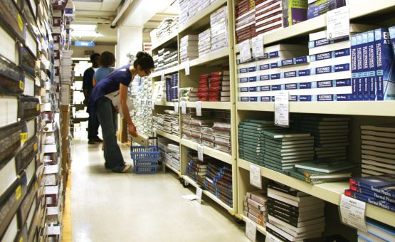 Students could save half off textbooks with rentals.