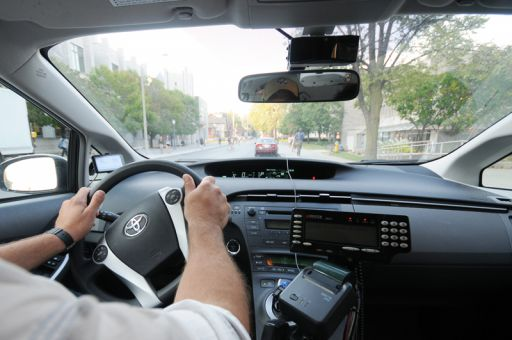 Seventy per cent of Amey's taxis have video cameras installed on the windshield.