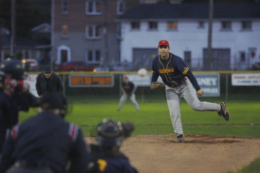 The men's baseball team has 15 rookies this season. They fell 9-3 to the Toronto Varsity Blues at Megaffin Park on Wednesday night.