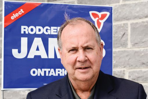 Rodger James said the PC Party Changebook is a strong point in their campaign.