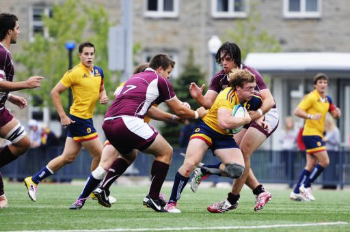 The Gaels outworked a bigger and stronger McMaster squad on Saturday.