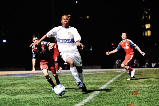 Kingston fans got their first chance to see the Kingston Prospect FC reserve team at Tindall field on Saturday night.