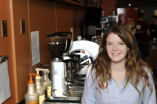 Common Ground head manager Sam Guertin said the AMS food service had improved sales this summer compared to last summer.