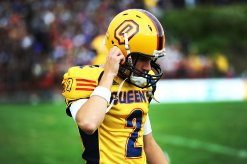 Queen's kicker Dan Village has started for the football team since 2007, setting 14 records in that span.