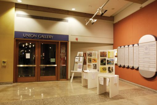 Union Gallery Director Jocelyn Purdie says the amount of time needed to prepare an exhibit depends on its complexity.