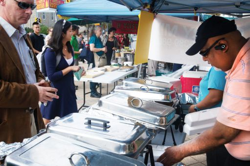 Paulina's Curry Mix reported a 40 per cent decrease in sales at the Queen's Farmer's Market after organizers banned the sale of hot foods.