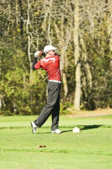 Mark Welsh helped the Gaels earn a silver medal at the OUA golf championship on Tuesday.