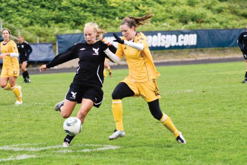 The Gaels beat the Carleton Ravens 2-0 when the two teams played at Richardson Stadium on Oct. 1.