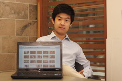 Thomas Lee, Comm'14, says Joysper hopes to be the third person for fostering relationships through social media.