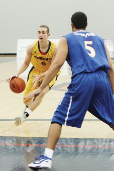 Guard Mackenzie Simpson scored 10 points and six rebounds in the season opener.